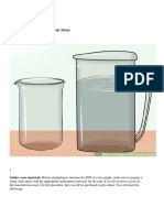 How to Calculate Total Dissolved Solids