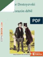 Corazon Debil - Fiodor Dostoyevski