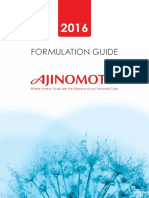 Ajinomoto Formulationguide