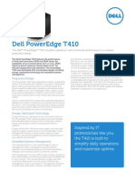 Server Poweredge t410 Specs En