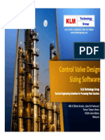 KLM Control Valve Program Overview