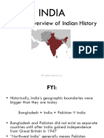 India Indian Civilization History Overview PowerPoint Presentation