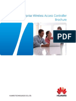 Huawei Enterprise Wireless Access Controller Brochure