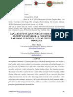 MANAGEMENT OF AQUATIC ECOSYSTEM BASED LOCAL SOCIETY'S KNOWLEDGE A CASE STUDY OF IKAN LARANGAN  IN PANDAM GADANG, WEST SUMATERA, INDONESIA.pdf