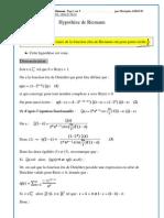 Demonstration de l'Hypothese de Riemann