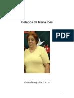 Receitas Sobremesas Sorvetes Gelados Da Maria Ines Gatuzo