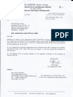 Shri Rajiv Dixit-RTI reply by IIT Kanpur.pdf