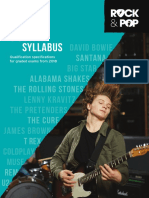 Trinity R&P Guitar Syllabus From 2018 (March 2018)