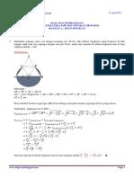 Soal Dan Pembahasan Osn Matematika 2013 Bagian a Isian Singkat Tingkat Provinsi
