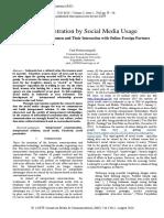 Social Media Penetration Usage