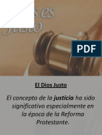 Power Point-Clase 2c- Cap.17- El Dios Justo