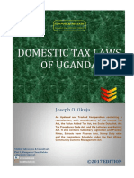Domestice Tax Laws of Uganda (2017 Edition)