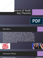 representations of youth key theories