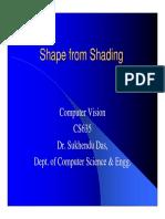 Shape From Shading