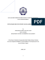 Sustainable Blue Economy Bangladesh Perspective