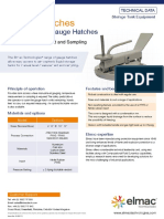 Gauge Hatches Datasheet