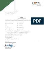 20171117 Invoive Pertama (1) Mandat RIS