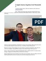 Motivator Indonesia Ippho Santosa Ingatkan Soal Muamalah Terhadap Tetangga