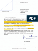 Courrier Jean-Luc Moudenc Richard Laganier
