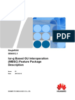 Iur-g Based GU Interoperation (MBSC) Feature Package Description(SRAN12.1_01)