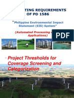 Permitting Requirements PD 1586