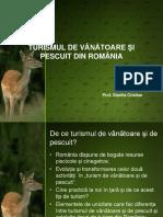 Turismul de Vanatoare Si Pescuit Din Romania