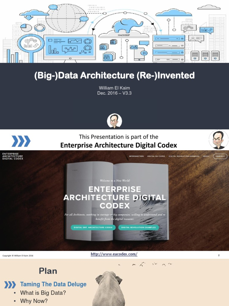 Big Data Architecture Re-Invented | Apache Hadoop | Big Data
