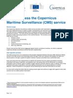 How to Access the Copernicus Maritime Surveillance Service