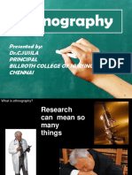 ethanography ppt susila
