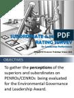 Superior and Subordinate Survey Procedures