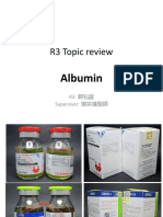 Topic Review Albumin