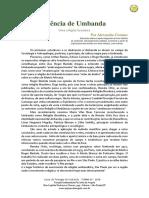 Alexandre Cumino - Ciência de Umbanda