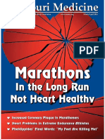 Hearts Breaking Over Marathon Running