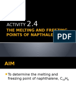 270973458 the Melting and Freezing Points of Napthalene