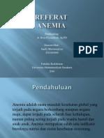 Ppt Referat Anemia