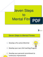 Seven Steps to Mental Fitness