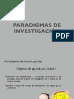 Unidad 1 Clase 2 Paradigma