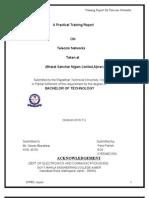 Training Report on BSNL