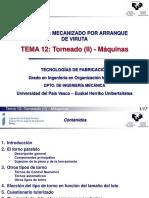 Módulo IV Mecanizado Por Arranque de Viruta Tema 12 Torneado (II) - Máquinas