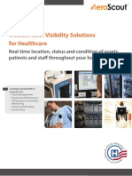 AeroScout Healthcare Visibility Brochure