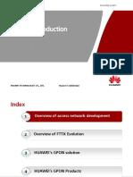 Huawei GPON Basic Knowledge Training Data