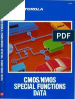 1988 Motorola CMOS NMOS Special Functions