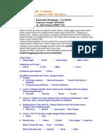 Soal Konstruksi Bangunan 2014-2015 - Copy