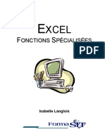 Excel Fonctions Specialisees