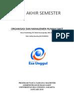 Uas Struktur Dan Manajemen Organisasi
