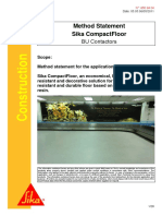 7 Sika CompactFloor Method Statement