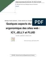Quelques aspects du design ergonomique des sites Web
