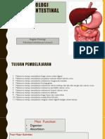 Fisiologi Gastrointestinal I
