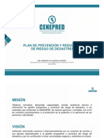 CENEPRED Elab. Plan de Prevencion y Reduccion de Riesgo de Desastres