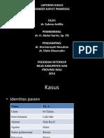 Laporan Kasus Ca. Pankreas